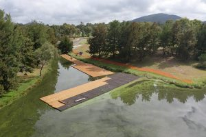 tuggeranong floating wetlands